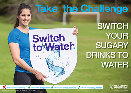 Switch to Water Challenge Poster